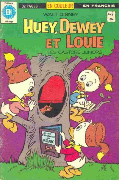Cover for Huey, Dewey et Louie - Les Castors Juniors (Editions Héritage, 1980 series) #9