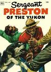 Cover for Sergeant Preston of the Yukon (Dell, 1952 series) #5