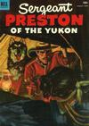 Cover for Sergeant Preston of the Yukon (Dell, 1952 series) #6
