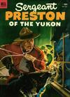 Cover for Sergeant Preston of the Yukon (Dell, 1952 series) #7