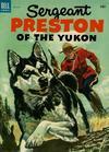 Cover for Sergeant Preston of the Yukon (Dell, 1952 series) #8
