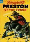 Cover for Sergeant Preston of the Yukon (Dell, 1952 series) #9