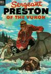 Cover for Sergeant Preston of the Yukon (Dell, 1952 series) #11