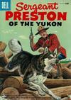 Cover for Sergeant Preston of the Yukon (Dell, 1952 series) #18