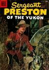 Cover for Sergeant Preston of the Yukon (Dell, 1952 series) #19