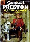 Cover for Sergeant Preston of the Yukon (Dell, 1952 series) #22 [15¢]
