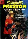 Cover for Sergeant Preston of the Yukon (Dell, 1952 series) #23 [15¢]