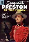 Cover for Sergeant Preston of the Yukon (Dell, 1952 series) #24