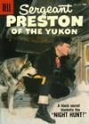 Cover for Sergeant Preston of the Yukon (Dell, 1952 series) #25
