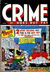 Cover for Crime Does Not Pay (Lev Gleason, 1942 series) #44