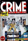 Cover for Crime Does Not Pay (Lev Gleason, 1942 series) #47