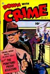 Cover for Down with Crime (Fawcett, 1952 series) #6