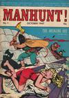 Cover for Manhunt (Magazine Enterprises, 1947 series) #1
