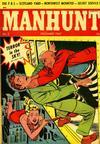 Cover for Manhunt (Magazine Enterprises, 1947 series) #3