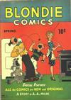 Cover for Blondie Comics (David McKay, 1947 series) #1