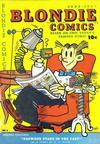 Cover for Blondie Comics (David McKay, 1947 series) #6
