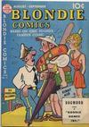 Cover for Blondie Comics (David McKay, 1947 series) #13
