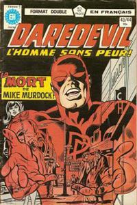 Cover Thumbnail for Daredevil l'homme sans peur (Editions Héritage, 1979 series) #43/44