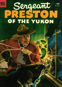 Cover Thumbnail for Sergeant Preston of the Yukon (Dell, 1952 series) #7