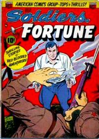 Cover for Soldiers of Fortune (American Comics Group, 1951 series) #9