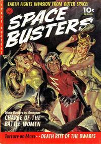 Cover Thumbnail for Space Busters (Ziff-Davis, 1952 series) #1