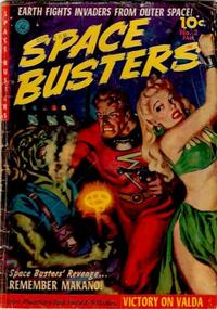Cover Thumbnail for Space Busters (Ziff-Davis, 1952 series) #2