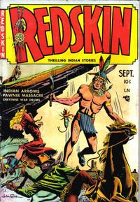 Cover Thumbnail for Redskin (Youthful, 1950 series) #1