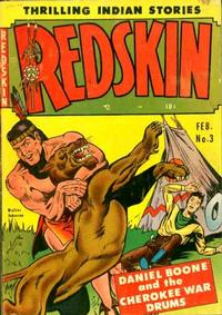 Cover Thumbnail for Redskin (Youthful, 1950 series) #3