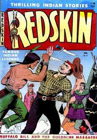 Cover Thumbnail for Redskin (Youthful, 1950 series) #11