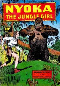 Cover Thumbnail for Nyoka the Jungle Girl (Fawcett, 1945 series) #11