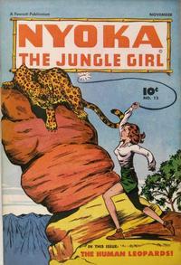 Cover Thumbnail for Nyoka the Jungle Girl (Fawcett, 1945 series) #13