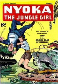 Cover Thumbnail for Nyoka the Jungle Girl (Fawcett, 1945 series) #15