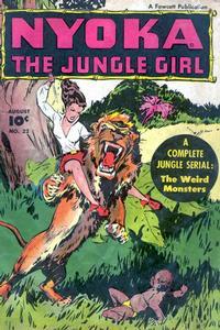 Cover Thumbnail for Nyoka the Jungle Girl (Fawcett, 1945 series) #22