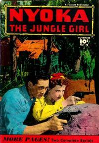 Cover Thumbnail for Nyoka the Jungle Girl (Fawcett, 1945 series) #25