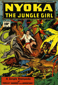 Cover Thumbnail for Nyoka the Jungle Girl (Fawcett, 1945 series) #26