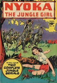 Cover Thumbnail for Nyoka the Jungle Girl (Fawcett, 1945 series) #29