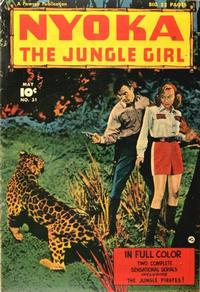 Cover Thumbnail for Nyoka the Jungle Girl (Fawcett, 1945 series) #31