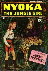 Cover Thumbnail for Nyoka the Jungle Girl (Fawcett, 1945 series) #32
