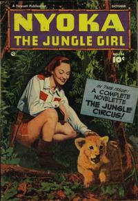 Cover Thumbnail for Nyoka the Jungle Girl (Fawcett, 1945 series) #36