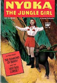 Cover Thumbnail for Nyoka the Jungle Girl (Fawcett, 1945 series) #39
