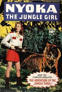 Cover Thumbnail for Nyoka the Jungle Girl (Fawcett, 1945 series) #40