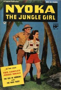 Cover Thumbnail for Nyoka the Jungle Girl (Fawcett, 1945 series) #41
