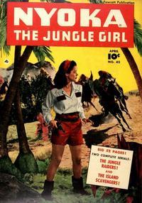 Cover Thumbnail for Nyoka the Jungle Girl (Fawcett, 1945 series) #42