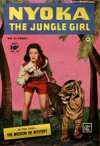 Cover Thumbnail for Nyoka the Jungle Girl (Fawcett, 1945 series) #43