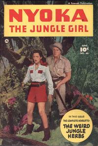 Cover Thumbnail for Nyoka the Jungle Girl (Fawcett, 1945 series) #44