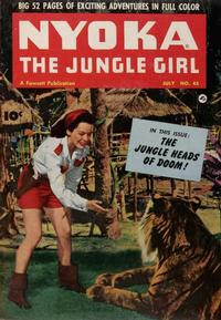 Cover Thumbnail for Nyoka the Jungle Girl (Fawcett, 1945 series) #45