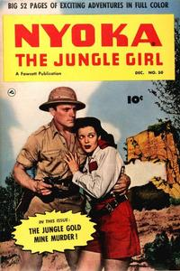 Cover for Nyoka the Jungle Girl (Fawcett, 1945 series) #50