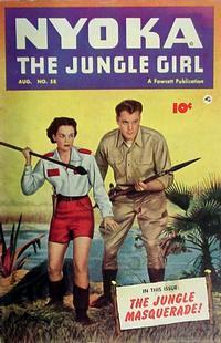 Cover Thumbnail for Nyoka the Jungle Girl (Fawcett, 1945 series) #58