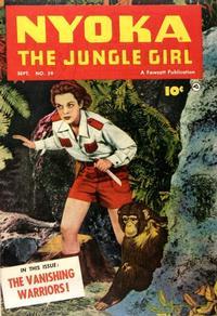 Cover Thumbnail for Nyoka the Jungle Girl (Fawcett, 1945 series) #59