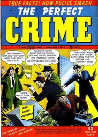 Cover Thumbnail for The Perfect Crime (Cross Publications, 1949 series) #2